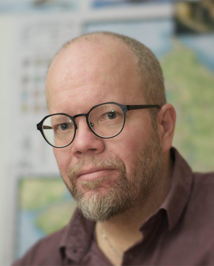 Kirjailija Ilkka Auerin kuva