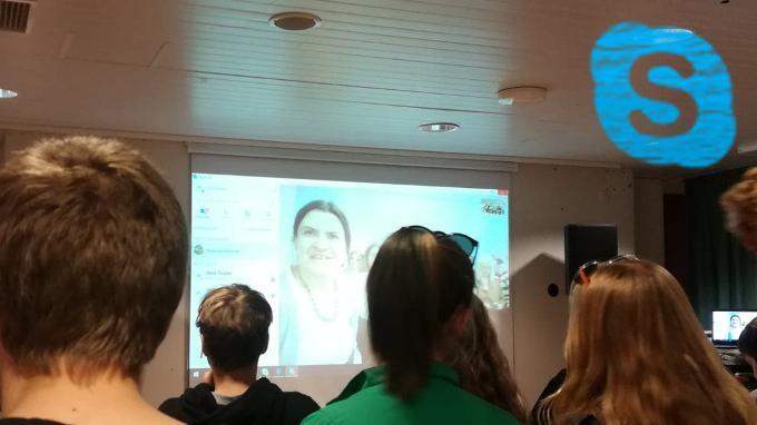 Helsingin ja Moskovan nuorten videokeskustelu