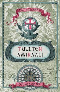 Kirjan Tuulten amiraali kansikuva