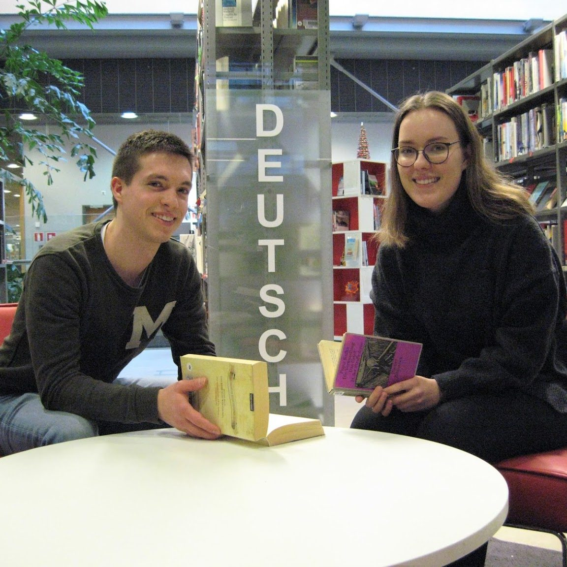 German business students Elisabeth von Babo and Johannes Baumann