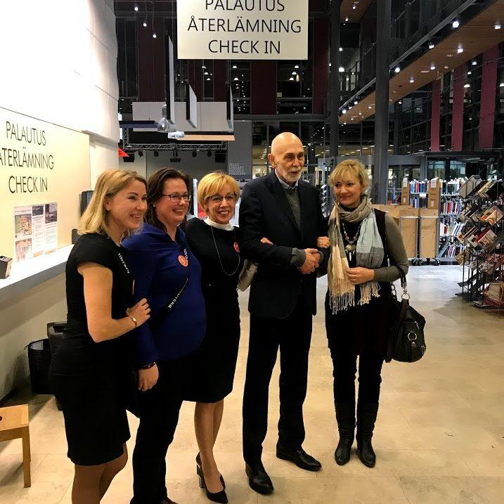 Праздник 5 летия русскоязычной библиотеки