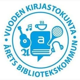 Vuoden kirjastokunta logo 2018