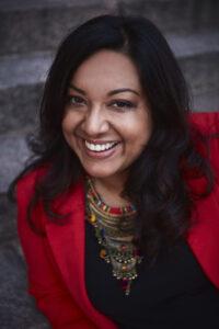 Kirjailija Mintie Das. Kuva Marek Sabogal