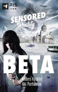 Anders Vacklinin ja Aki Parhamaan kirjan Beta kansikuva.